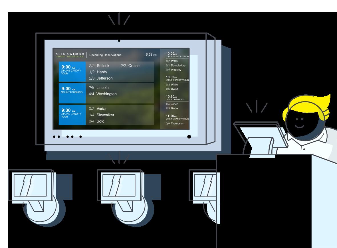 zipline booking software